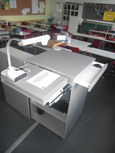 Šolski kabinet za projektor